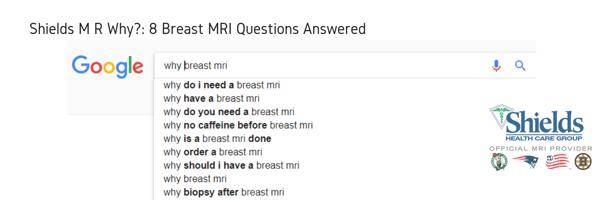 Copy of Breast MRI FAQs